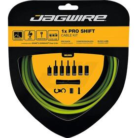 Jagwire 1X Pro Shift set de cable de cambio, verde